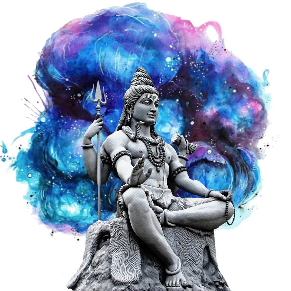 Um dos regentes de 2019 Shiva: uma deidade do Hinduismo que representa a destruição, a regeneração, a ordem que surge do caos e a nova vida que emerge após a morte.