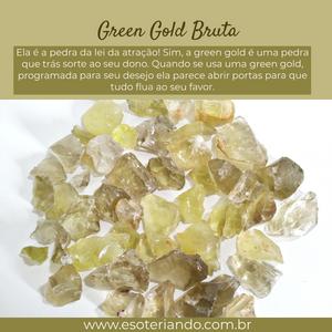 Green Gold - A pedra da lei da atração disponível em nosso site