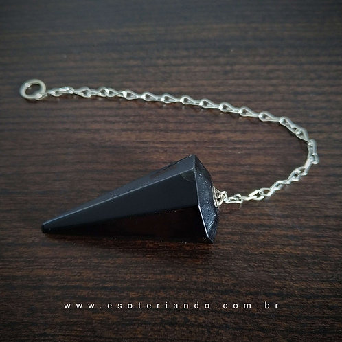 Pêndulo de Obsidiana negra