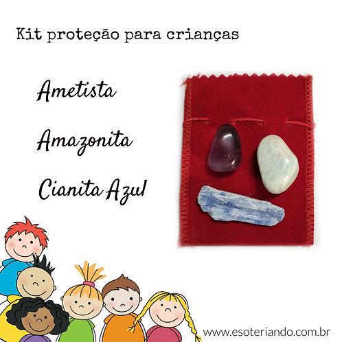 Kit proteção para Crianças