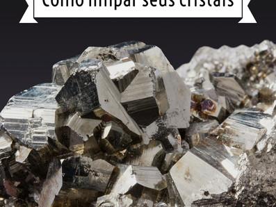 Como Limpar seu cristal