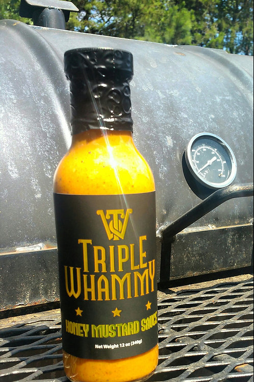 Triple Whammy Spicy Honey Mustard