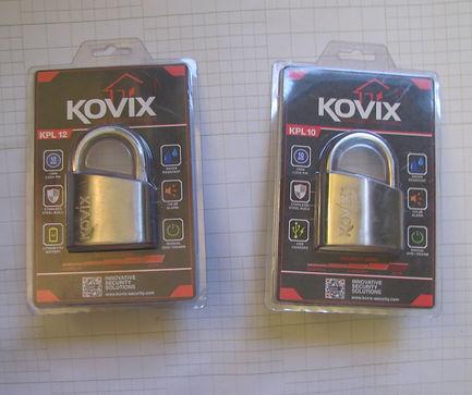 навесные замки с сигнализацией Kovix