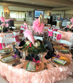 Rented Linens & Table Decor