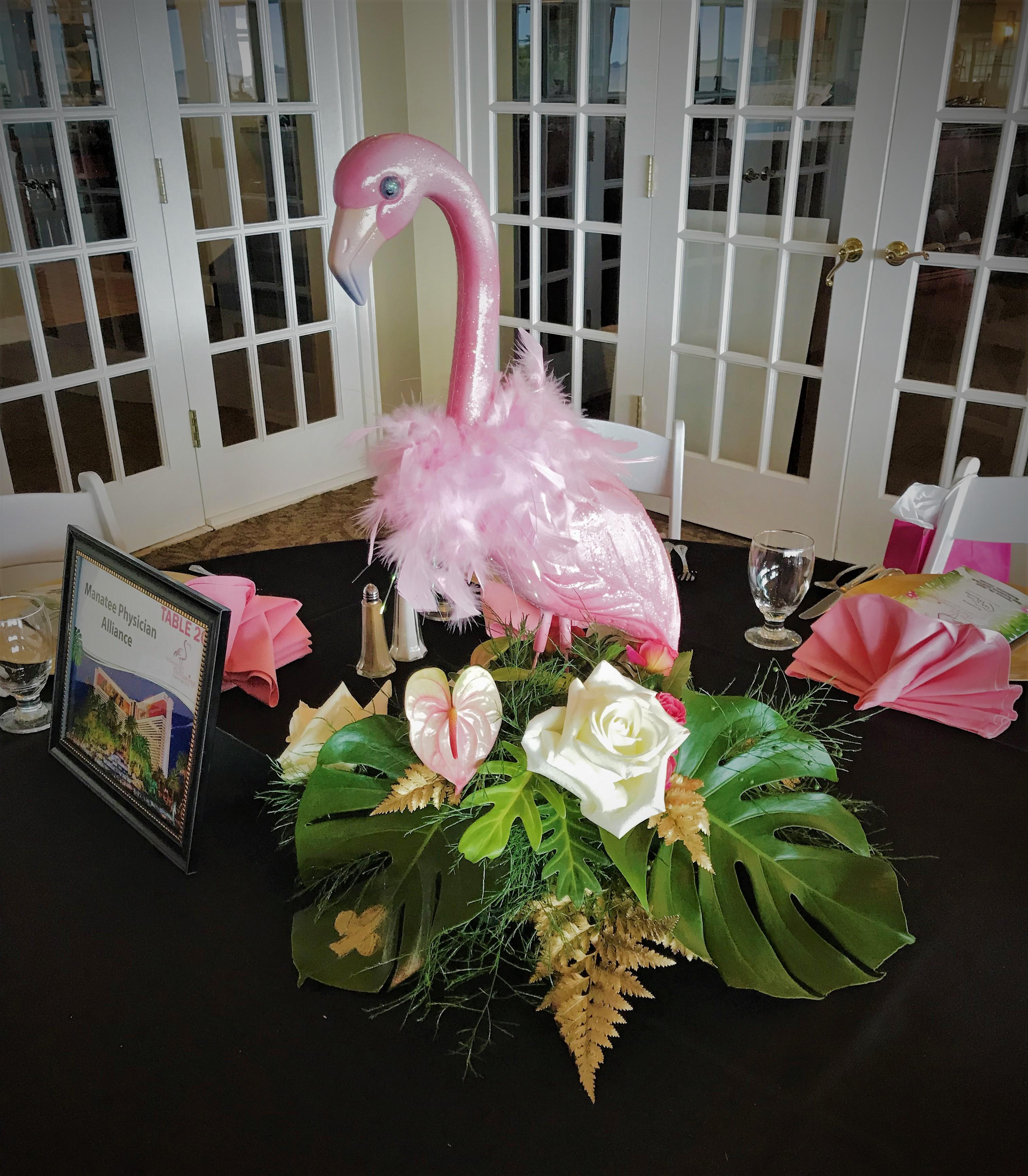 Flamingo Centerpiece