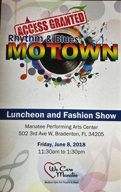 Motown Fashion Show Event