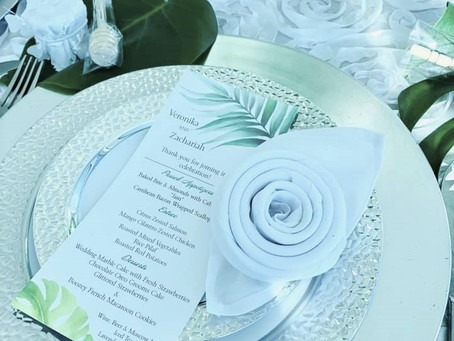 Designing a Wedding or Event to be Memorable!