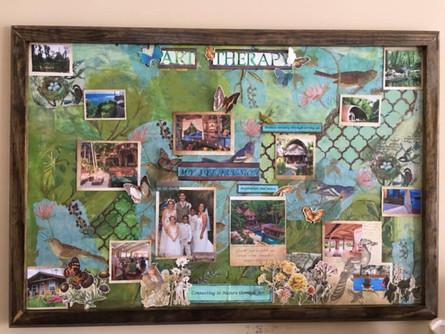 2019 Art Therapy Vision Board