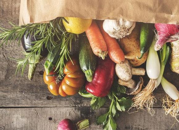 Panier de legumes 4/5 personnes
