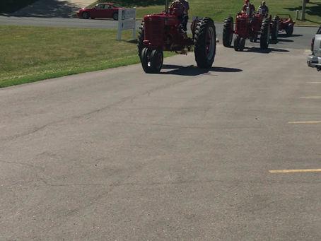 Saturday June 27, 2020 Tractor Parade at Dassel Lakeside Nursing Home