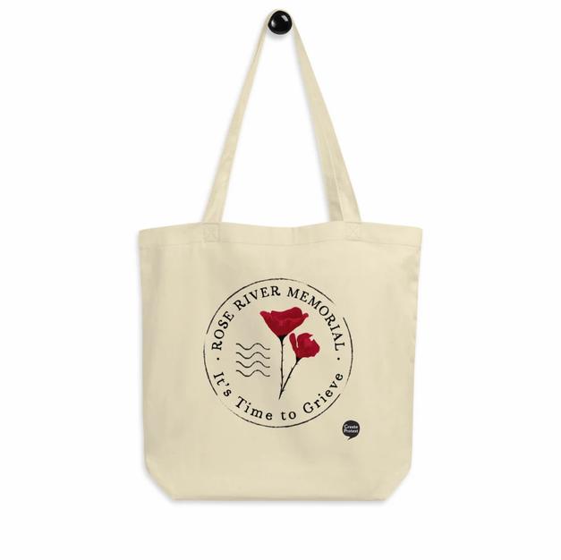Rose River Memorial Logo Tote Bag