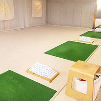 大阪ゴルフスクールmeenoのレッスンスペース