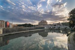 Roma, Lungotevere all'alba