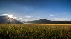 Castelluccio di Norcia, alba