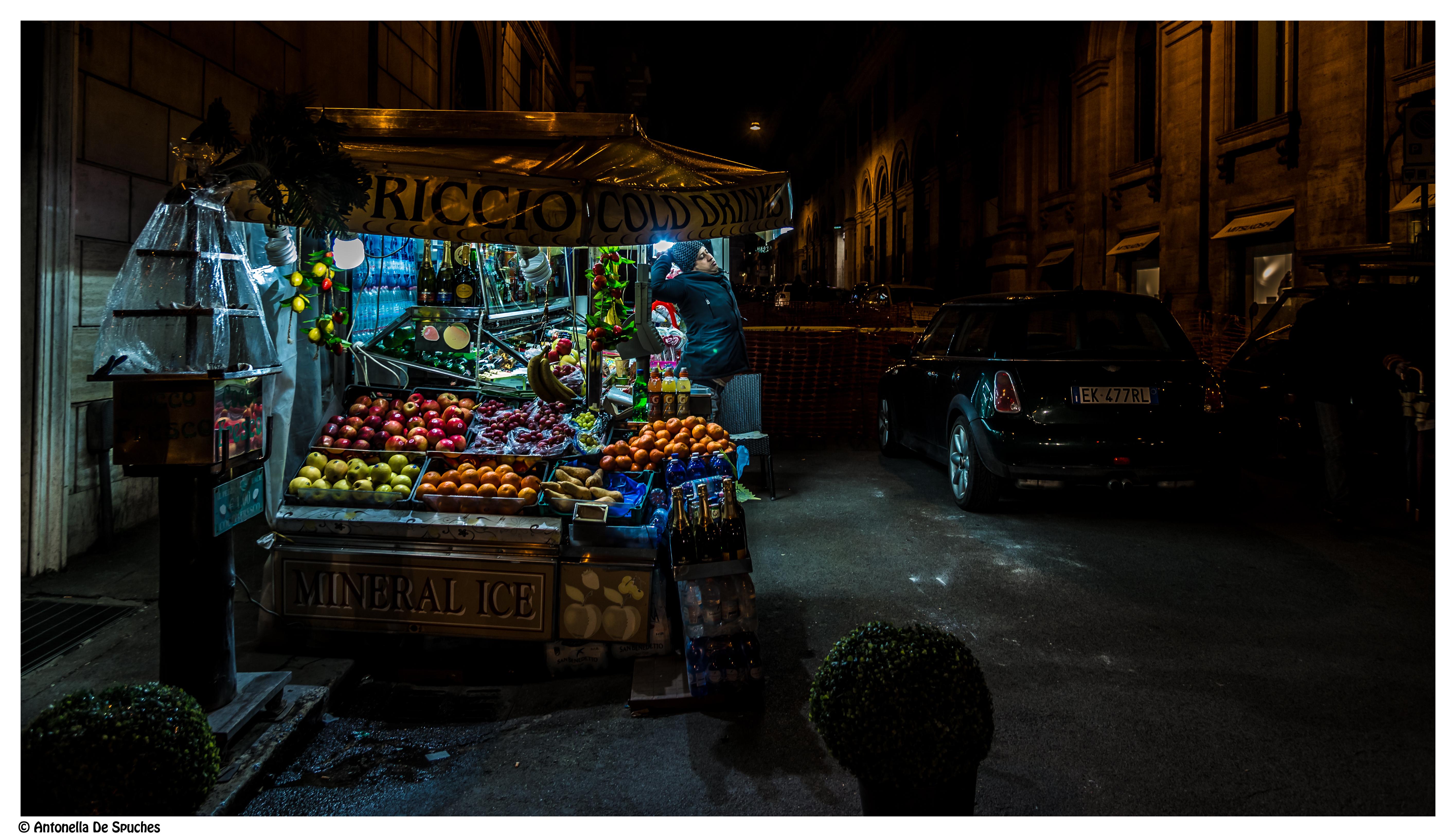 notte a Roma