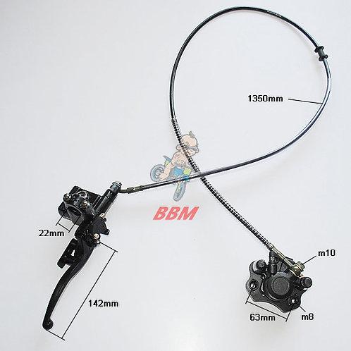 hydraulic rear brake assy for 50cc ATV