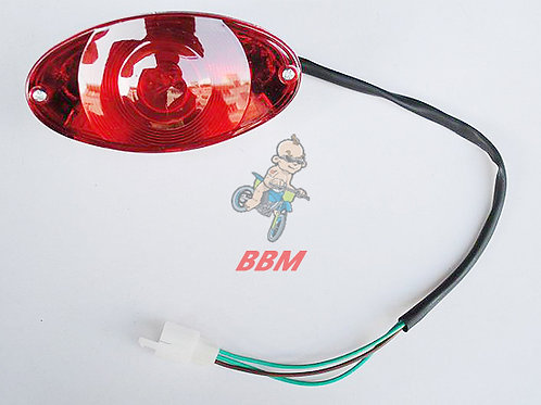 Brake light for monkey bike