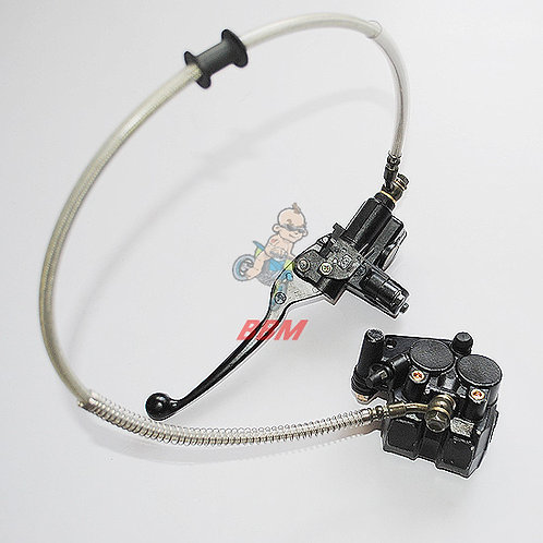hydraulic front   brake assy for pocket  bike.