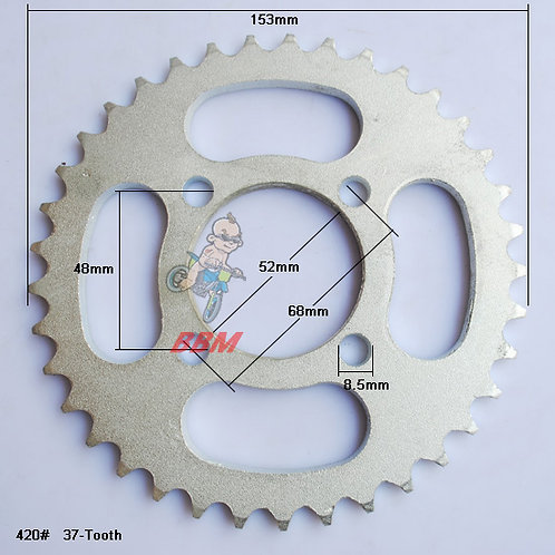 420-37 teeth  SMALL CENTRE Sprocket