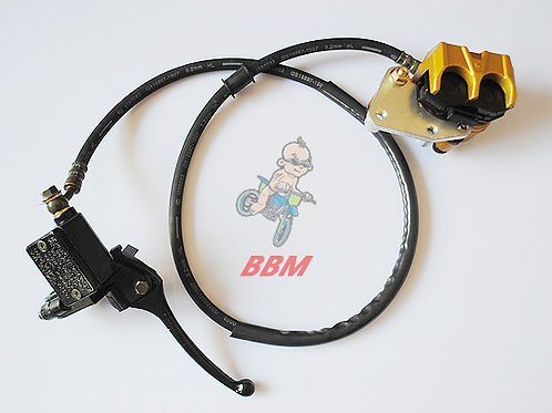 hydraulic front  brake assy for 150cc dirt bike .