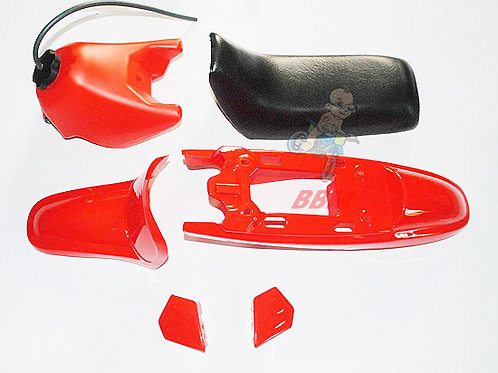 PW50 red plastic kits