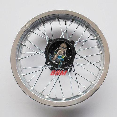 1.85x 12 rear alloy rim with hub