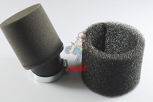 Motorcycle 38mm Air Filter Foam
