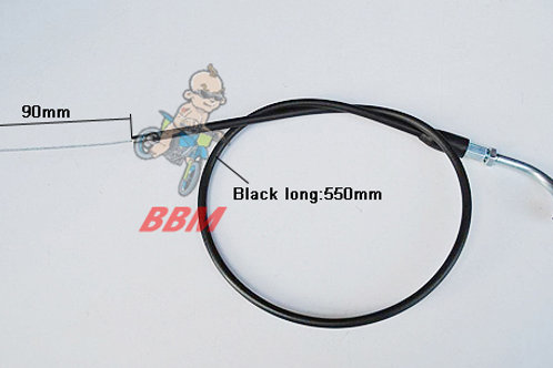 Throttle cable for monkey bike
