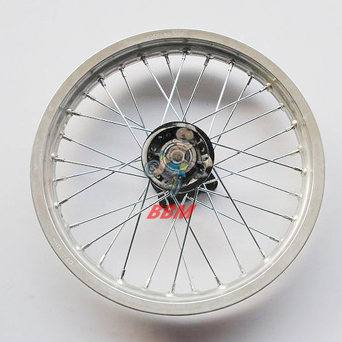 1.60x 14 front alloy rim with hub