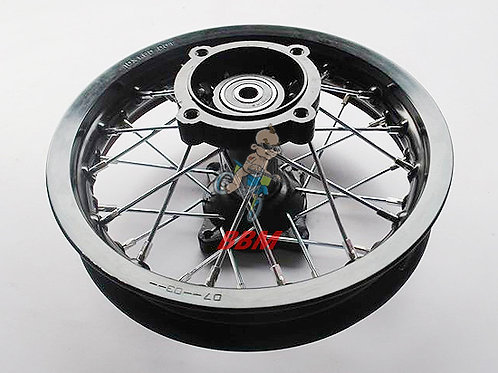 1.60x 10 front alloy rim with hub