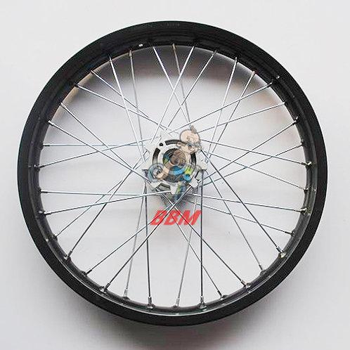 1.85x 19 front alloy rim