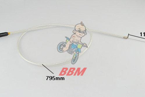 110cc drit bike silverThrottle cable