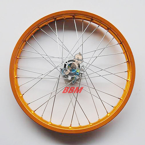 1.85x 21 front alloy rim with hub