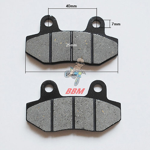 110CC REAR BRAKE PAD