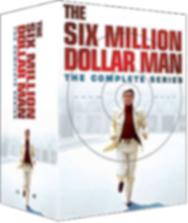Six Million Dollar Man Complete Series Boxed Set