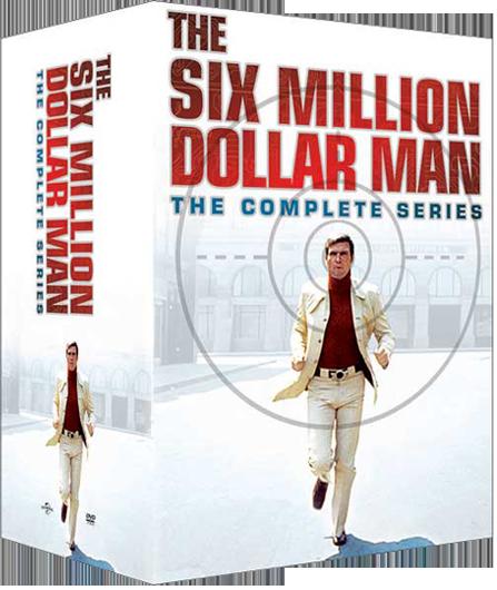 Six Million Dollar Man Complete Series Boxed Set