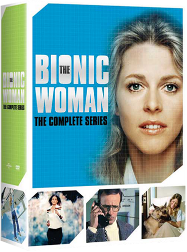 Bionic Woman Complete Series Box Set