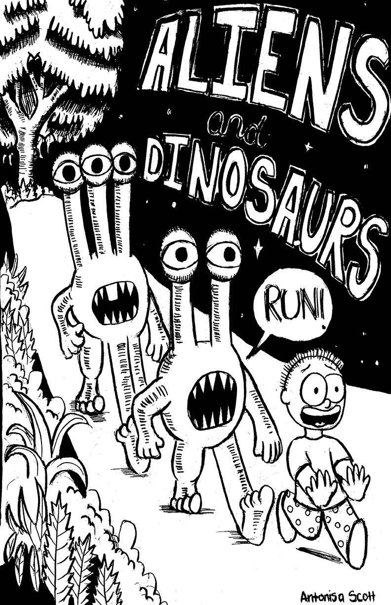 Aliens and Dinosaurs
