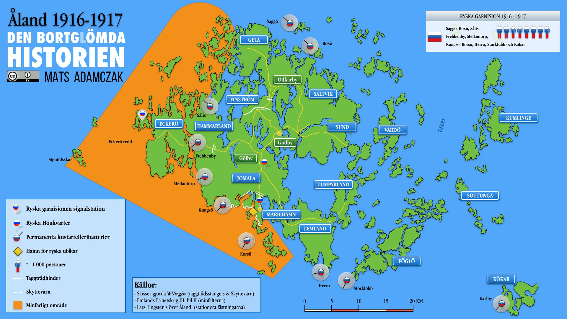 Åland 1916-1917