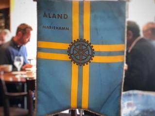 Föreläser för Rotary Åland