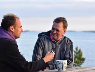 Intervjuad av Österrikisk radio