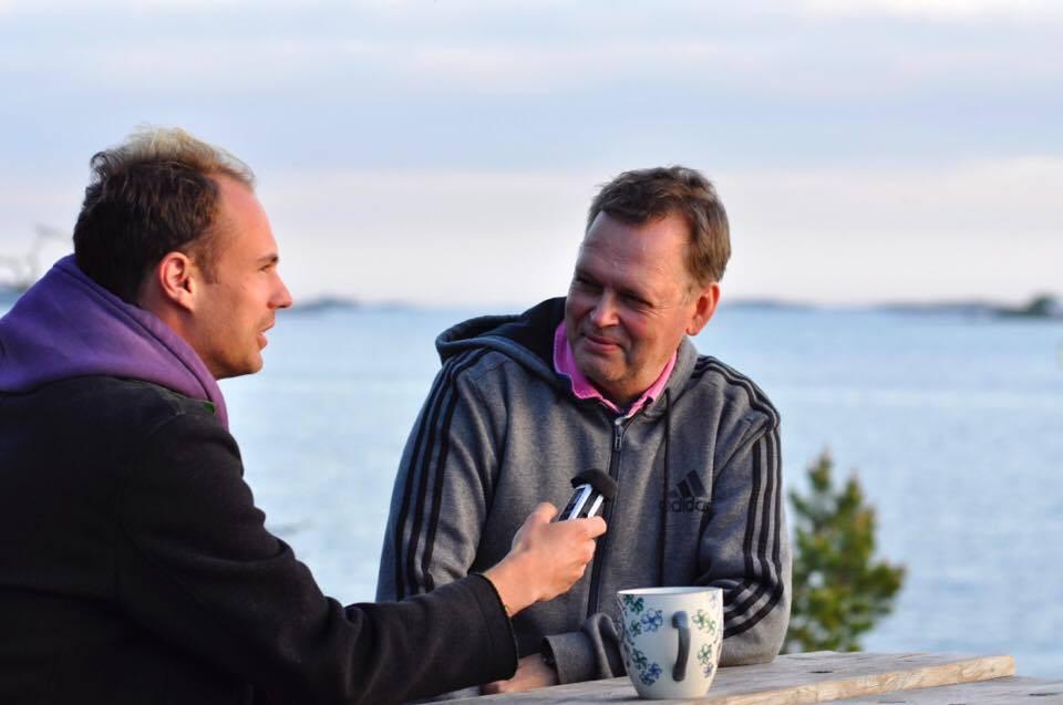 Intervjuas av Nikolai från Österrike om Ålandsfrågan