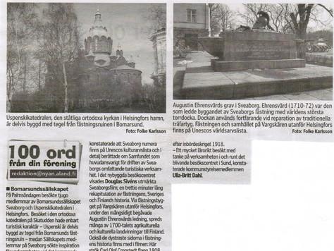 Sveaborg och Uspenski katedralen