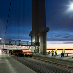 Mackinac Bridge painting project earns engineering award