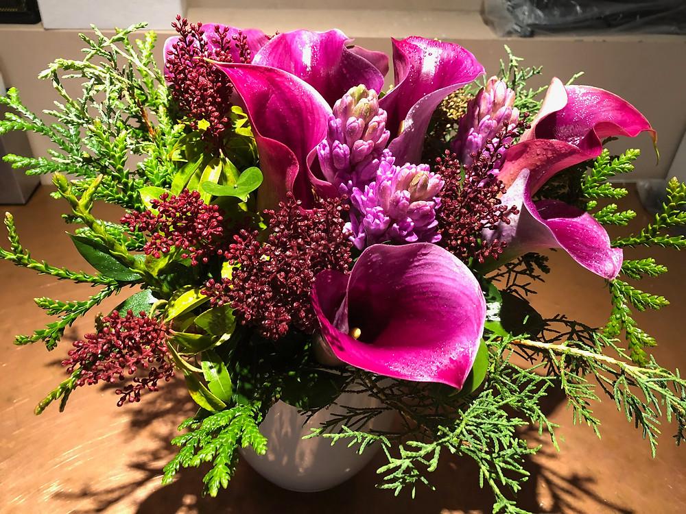 flower arrangement NYC