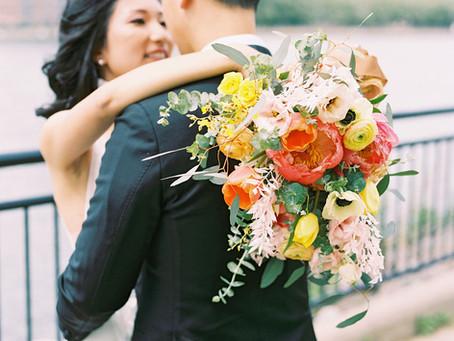 NYC Florist | Fleurissimo NYC | Wedding Flowers In LIC | The Bordone LIC Weddings