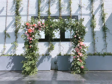 Flower Arches For Wedding