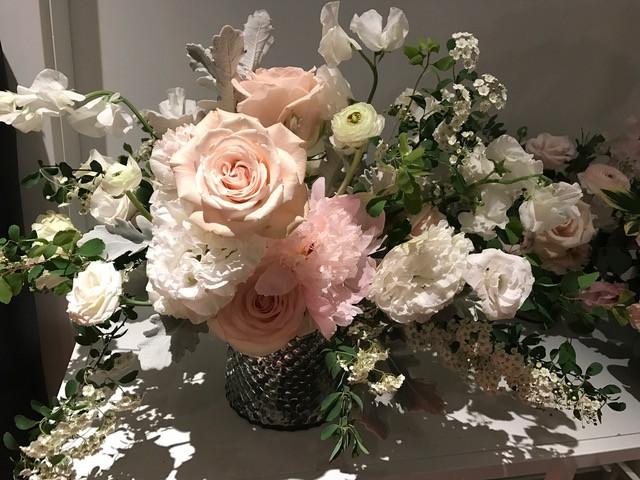 Flower arrangement in soft color
