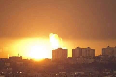Serangan rejimpengganas Israel ke atas Gaza