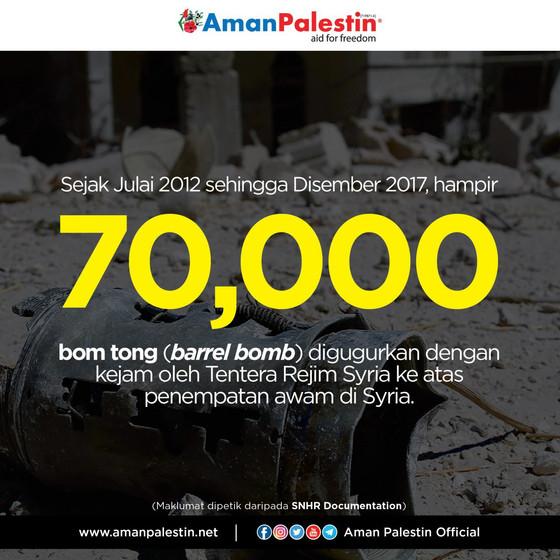 #Syria | Bom Tong di Syria dalam Sejarah